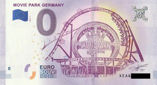 0 Euro Schein - Movie Park Germany 2018 1